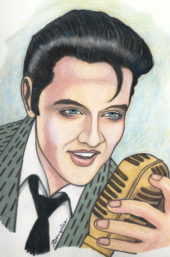 Elvis Presley por aaronmark
